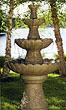Four-Tier Hummingbird Fountain #3880 basin #2089-f7