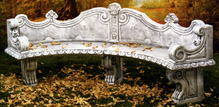 Venetian Curve Bench #613