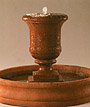 Outdoor Garden Water Fountains - Tall Urn Fountain