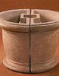 Architectural Round Planter  #695-S