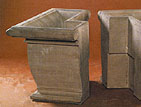 Architectural Square Post Planter #699-S