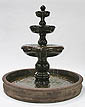 "Classic 3-Tier Fountain w/74"" Basin #LG110-F7"