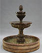 "Mediterranean Fountain w/46"" Basin #LG134-F46"