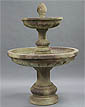 Mediterranean Fountain, 2 Tier #LG134-FT2