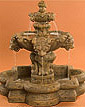 Lion Fountain, Small w/ Quatrefoil Basin #257-FSQ