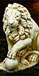 Lion with Ball  left #544-LP