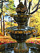 Oak Fountain with Basin #239-FB