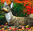 Reclining Doe Head Up #576-HU