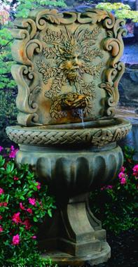 Green Man Wall Fountain 248 Fw